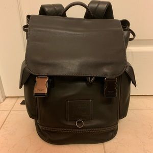 Coach Rivington Brown Leather Backpack